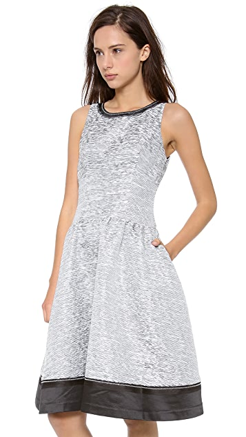 Jonathan Simkhai Space Dye Structured Dress