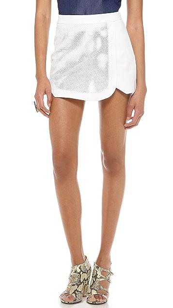 Jonathan Simkhai Perforated Sport Shorts