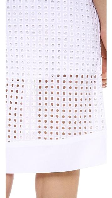 Jonathan Simkhai Eyelet Skirt