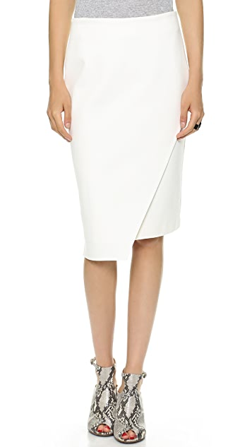 Jonathan Simkhai Asymmetrical Pencil Skirt
