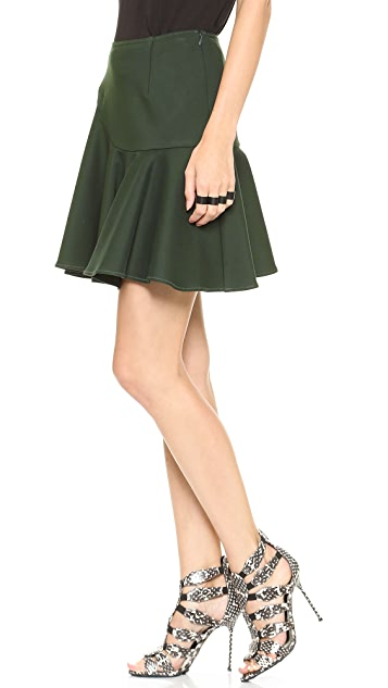Jonathan Simkhai Circle Wave Skirt