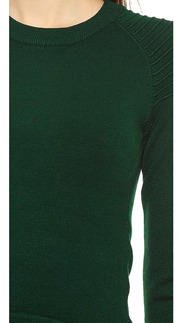 Jonathan Simkhai High Low Utility Sweater