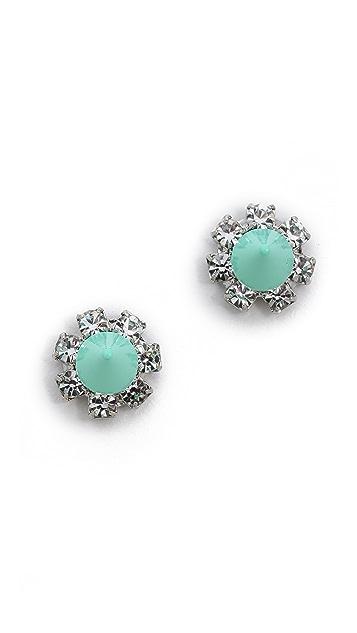 Joomi Lim Pretty In Punk Crystal Spike Earrings
