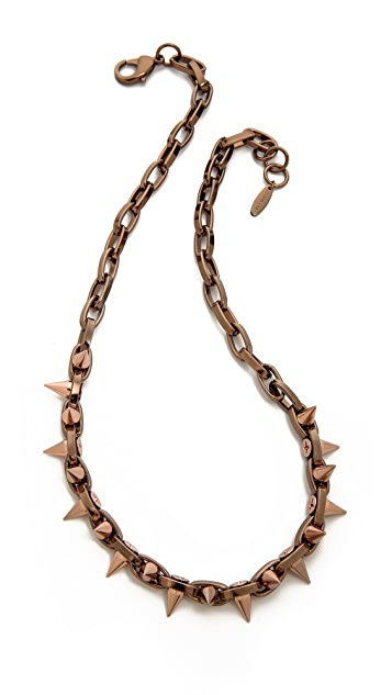 Joomi Lim Midnight Rose Spike Choker