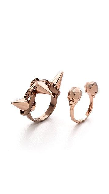Joomi Lim Skull & Spike Ring
