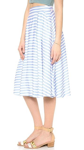 J.O.A. Stripe Skirt