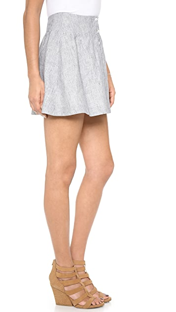 J.O.A. A Line Skirt