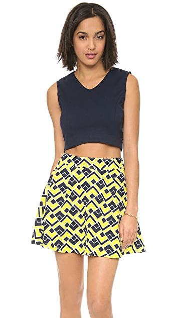 J.O.A. Sleeveless Crop Top