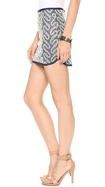 J.O.A. Navy Miniskirt