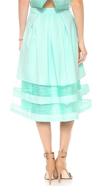 J.O.A. Knee Length Skirt