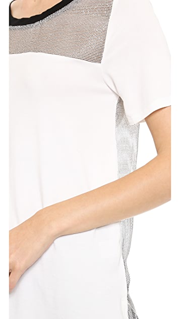 J.O.A. Knit Jersey Top