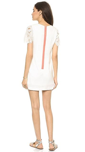 J.O.A. Flower Lace Dress