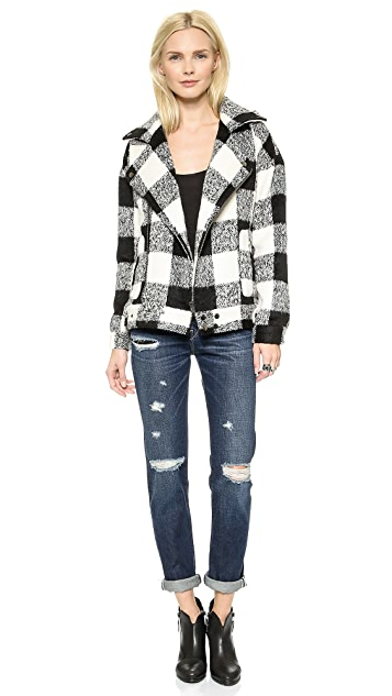 J.O.A. Buffalo Plaid Jacket