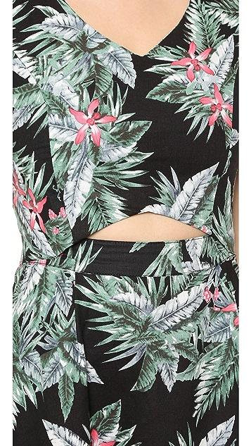 J.O.A. Feminine Safari Dress