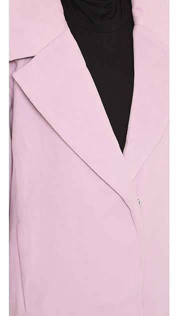 J.O.A. Notched Lapel Coat