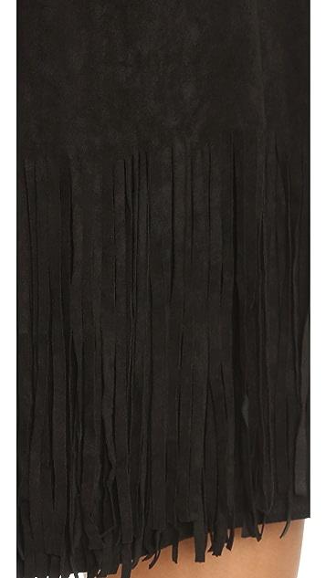 J.O.A. Fringe Mini Dress