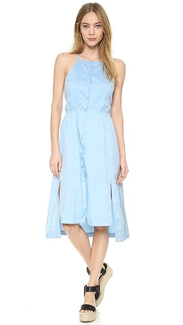 J.O.A. Button Front Dress