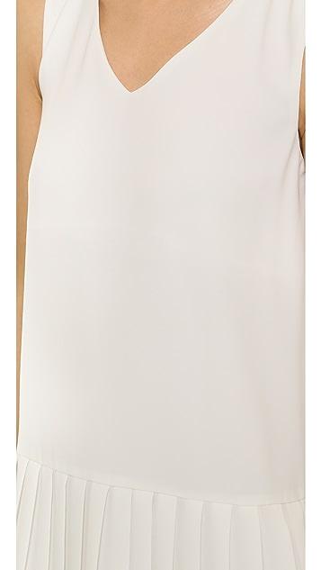J.O.A. Pleated Dress