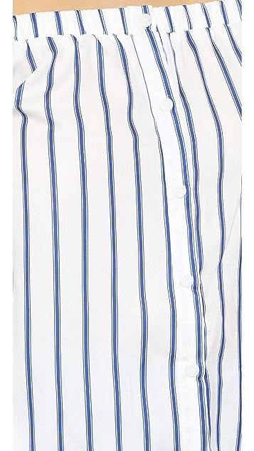J.O.A. Stripe Blouse