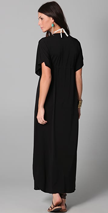 JOSA tulum Rustic Long Cover Up Dress