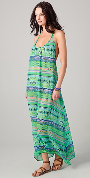 JOSA tulum Halter Cover Up Maxi Dress
