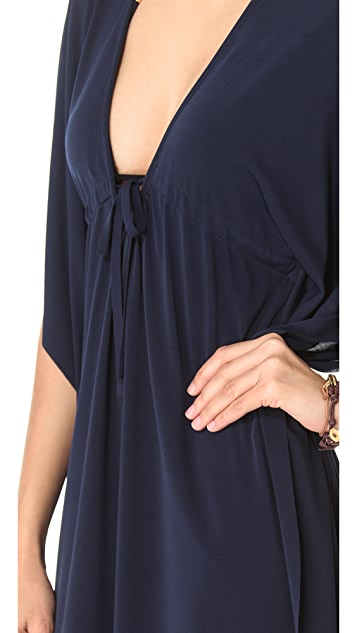 JOSA tulum V-Largo Cover Up Dress