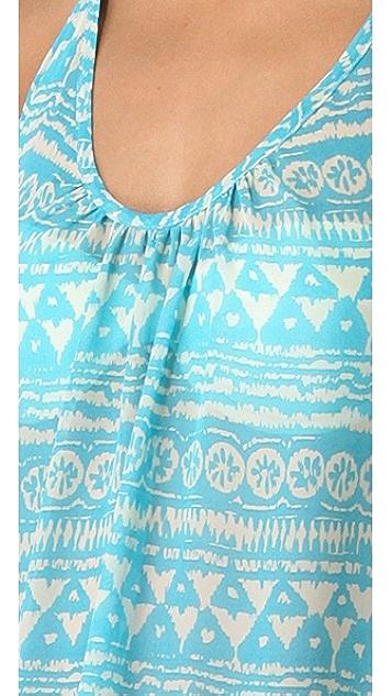JOSA tulum Low Back Halter Cover Up Dress