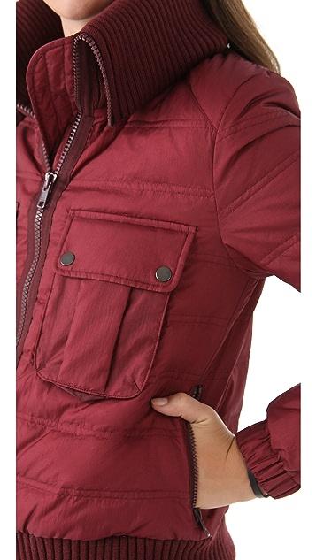 Joseph Maya Short Puffer Coat