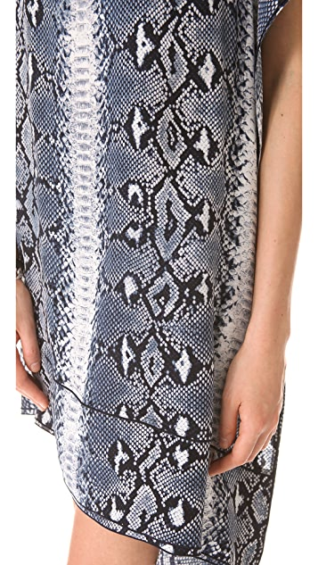Joseph Elle Snake Print Dress