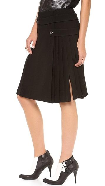 Joseph Harrington Pleated Skirt