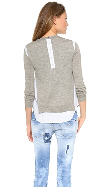 Joseph Rd Nk Sweater
