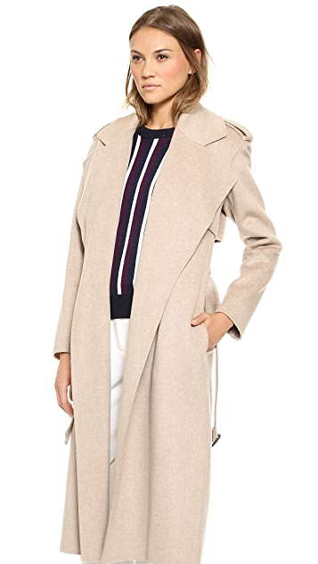 Joseph Win Wool & Cashmere Trench