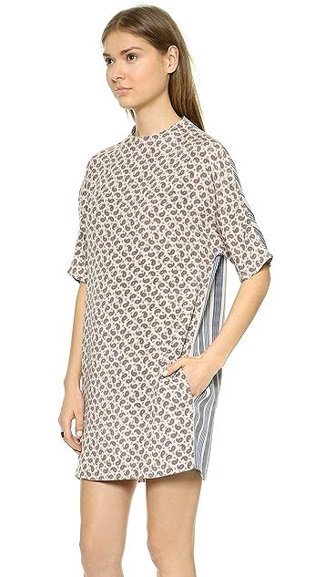 Joseph Nate Mixed Print T-Shirt Dress