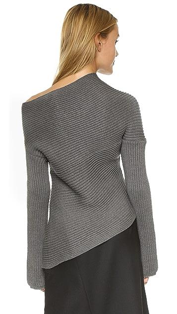 Joseph Asymmetrical Sweater