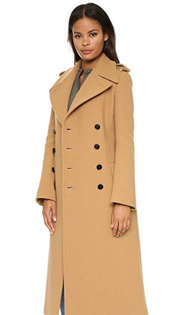 Joseph Townie Extra Long Trench Coat