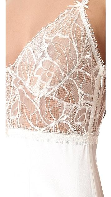 Jenny Packham Lace & Silk Chemise