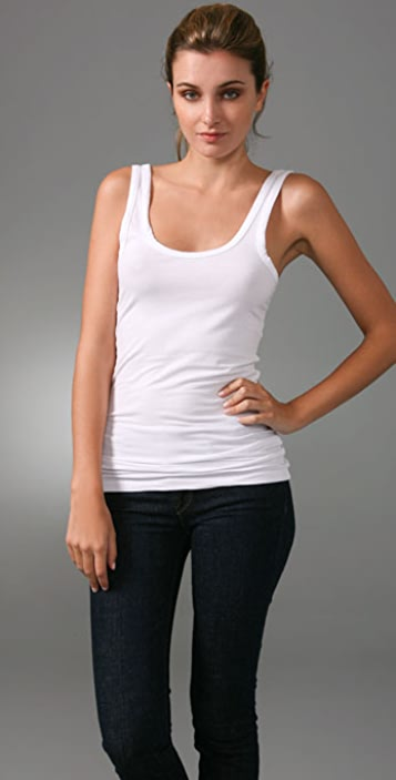 02f7880930177e James Perse Brushed Jersey Tank