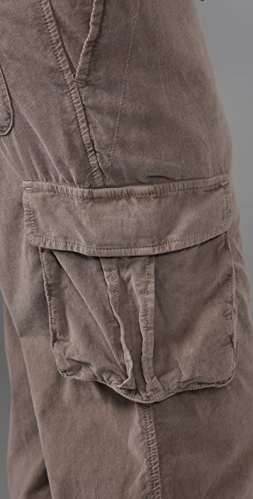 James Perse Corduroy Cargo Pants
