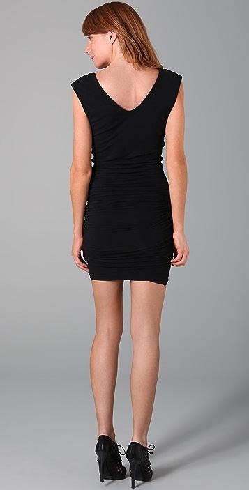 James Perse Deep V Dress