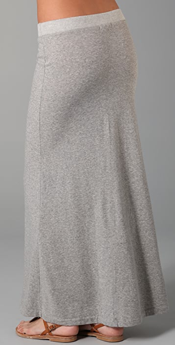 James Perse Pull On Long Skirt