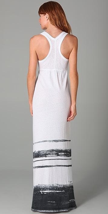 James Perse Summer Stripe Long Dress