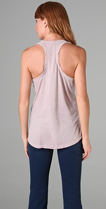 James Perse Relaxed Racer Back Tank