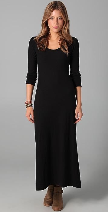 f9e4a6aa65 James Perse 3/4 Sleeve Maxi Dress | SHOPBOP