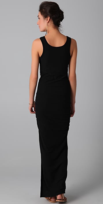 James Perse Side Split Long Tank Dress