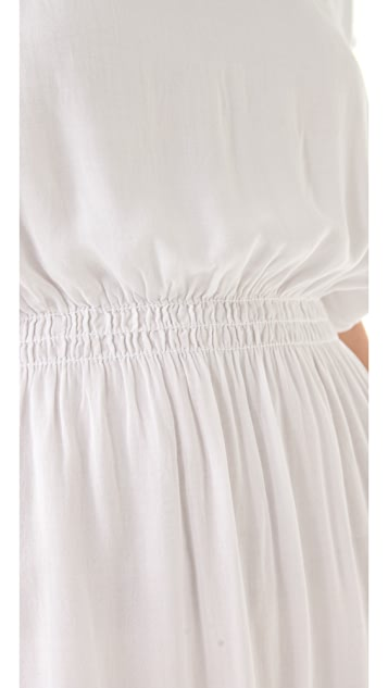 James Perse Elastic Waist Kimono Dress