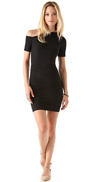 James Perse Bare Shoulder Dress