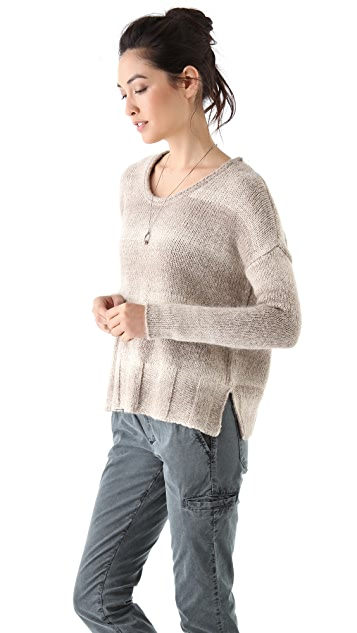 James Perse Boxy Crew Neck Sweater