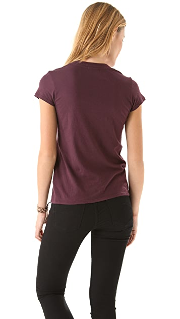 James Perse Casual V Neck Tee
