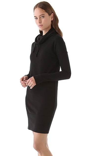 James Perse Funnel Sweatshirt Dress