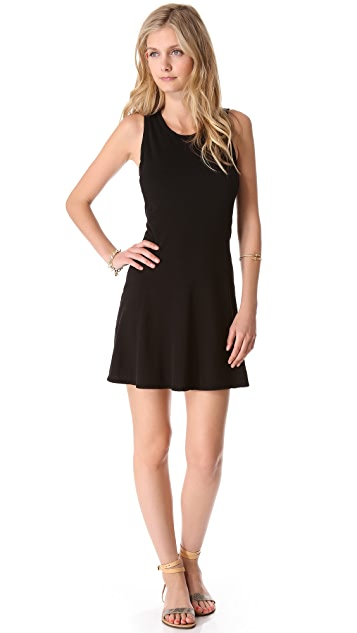 James Perse Crew Neck Flare Dress
